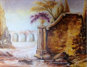 Aqueduto na Roma Antiga