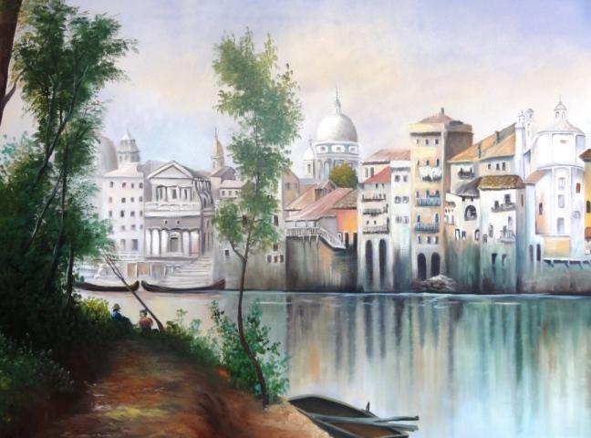 Desfrutando Veneza